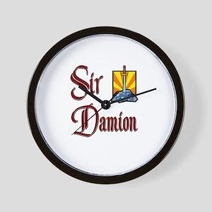 Sir Damion Wall Clock