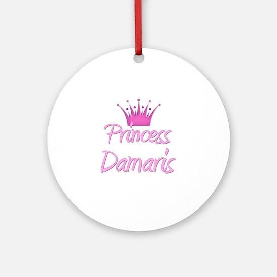 Princess Damaris Ornament (Round)