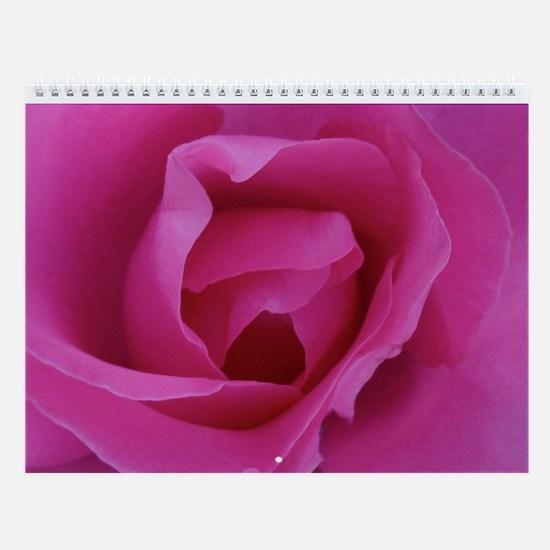 Fuschia Roses Calendar