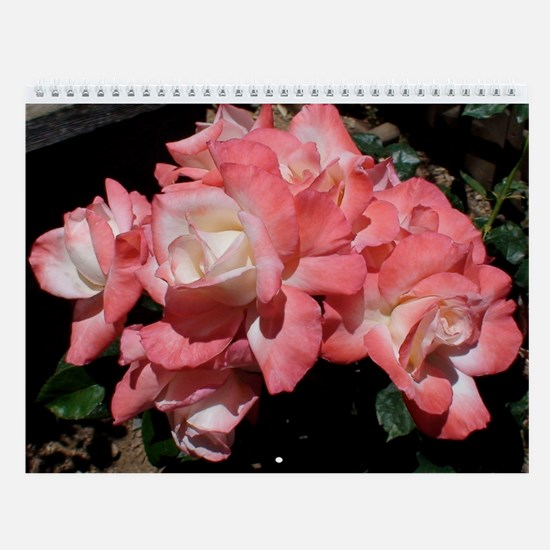 Rose Bunches Calendar