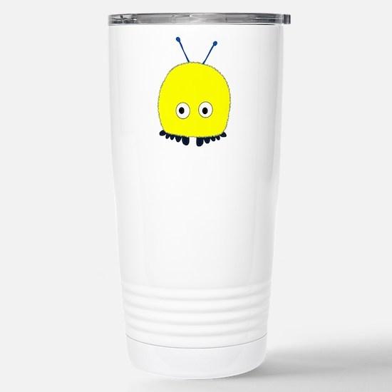 Yellow Wuppie Stainless Steel Travel Mug