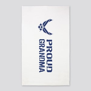 USAF: Proud Grandma Area Rug
