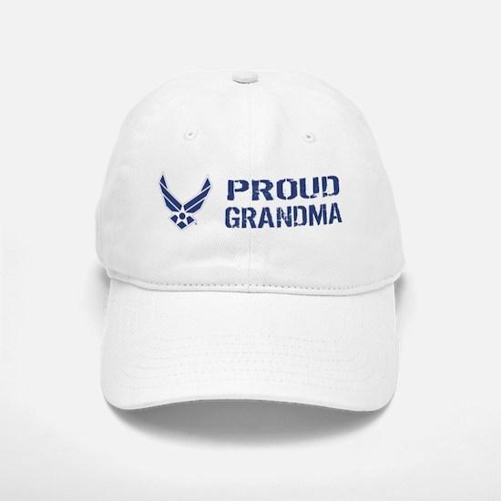 USAF: Proud Grandma Baseball Baseball Cap