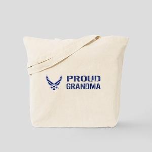 USAF: Proud Grandma Tote Bag