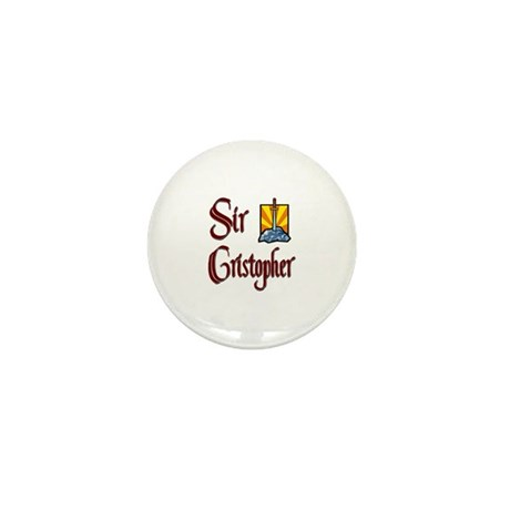Sir Cristopher Mini Button