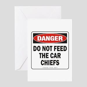 Car Chiefs Greeting Card