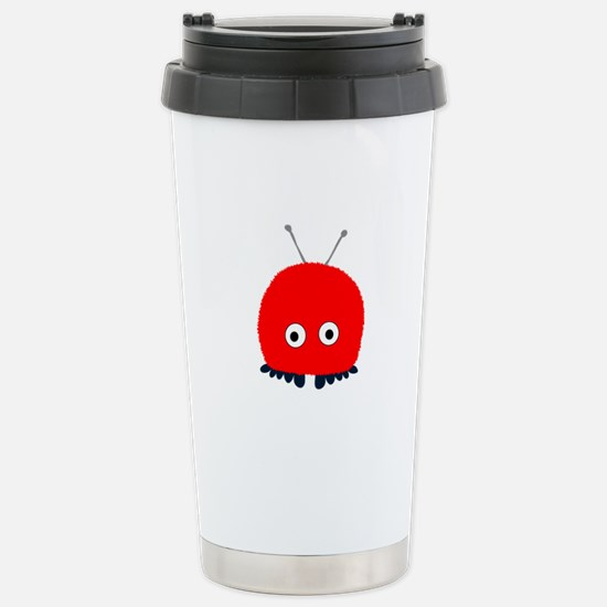 Red Wuppie Stainless Steel Travel Mug