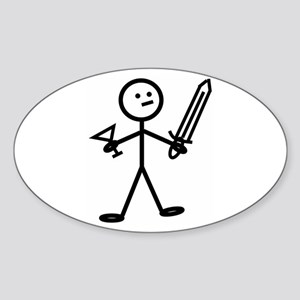 Adventurer Oval Sticker