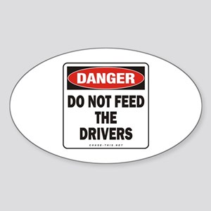 Drivers Oval Sticker