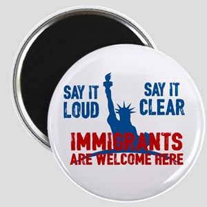 Immigrants Welcome Magnets