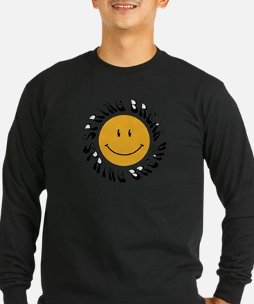 Yellow Spring Break Smiley T