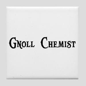 Gnoll Chemist Tile Coaster