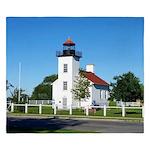 Sand Point Lighthouse King Duvet