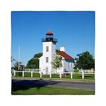 Sand Point Lighthouse Queen Duvet
