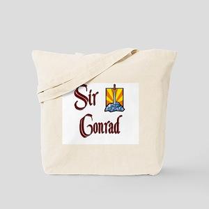 Sir Conrad Tote Bag