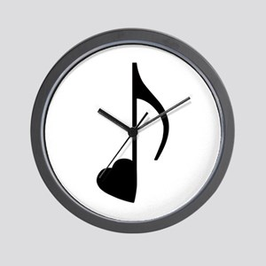 Eighth Love Note Wall Clock