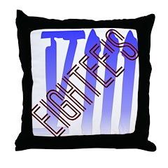 EighTee's Throw Pillow