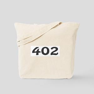 402 Area Code Tote Bag