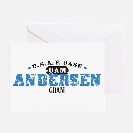 Andersen Air Force Base Greeting Card