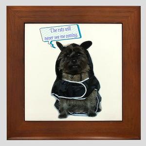 Oh, my Dog! Framed Tile