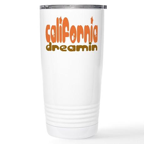 California Dreamin' Stainless Steel Travel Mug