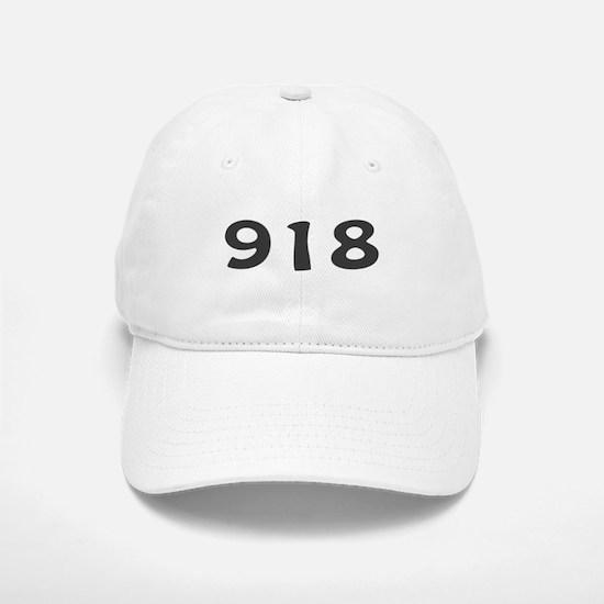918 Area Code Baseball Baseball Cap