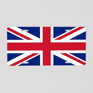 flags UK Aluminum License Plate