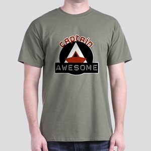 Captain Awesome 4 Dark T-Shirt