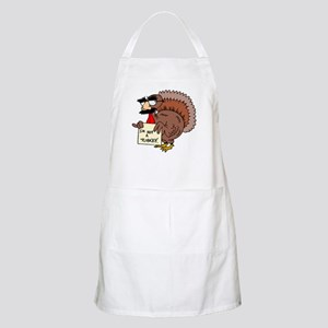 Funny Thanksgiving BBQ Apron
