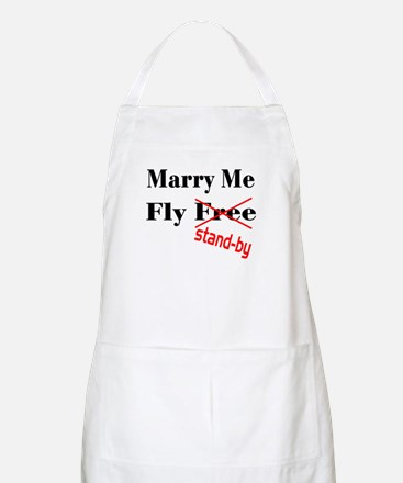 Marry Me! BBQ Apron
