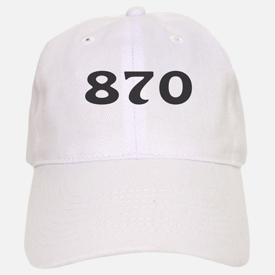 870 Area Code Baseball Baseball Cap