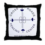 Cross Roads Fencing Center 11 inch Throw Pillow