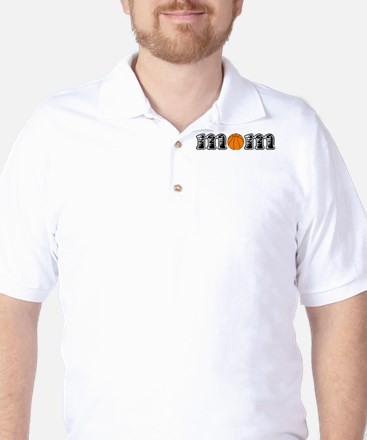 Basketball Mom Golf Shirt