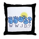 WWJD? Throw Pillow
