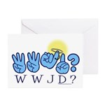 WWJD? Greeting Cards (Pk of 10)
