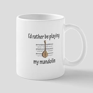 Playing My Mandolin Mug