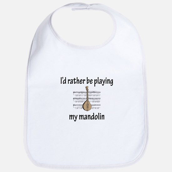 Playing My Mandolin Bib