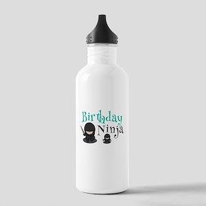 Cute Birthday Ninja Ma Stainless Water Bottle 1.0L
