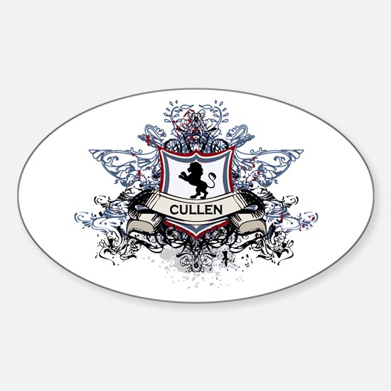 Cullen Crest Oval Decal