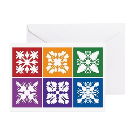 Hawaiian Quilt Greeting Cards (Pk of 10)