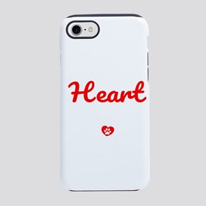 The Road To My Heart Is Pave iPhone 8/7 Tough Case