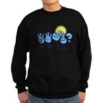 WWJD? Sweatshirt (dark)