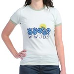 WWJD? Jr. Ringer T-Shirt