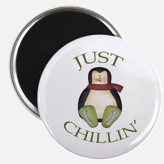 Cute Penguin power Magnet