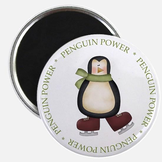 Unique Penguin power Magnet