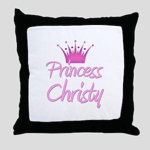 Princess Christy Throw Pillow