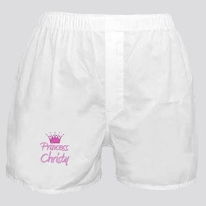 Princess Christy Boxer Shorts