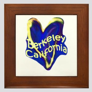 Berkeley, California Framed Tile