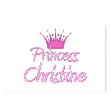 Princess Christine Postcards (Package of 8)