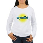 PEACE Glow Women's Long Sleeve T-Shirt